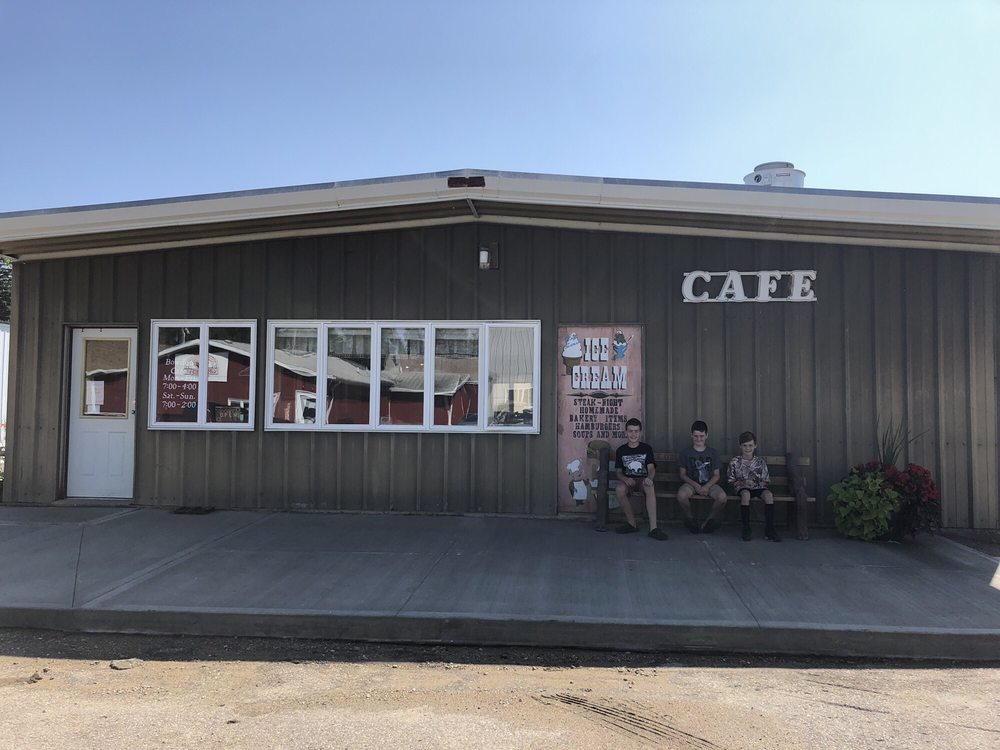 Bowdon Cafe: 134 Warrington Ave, Bowdon, ND