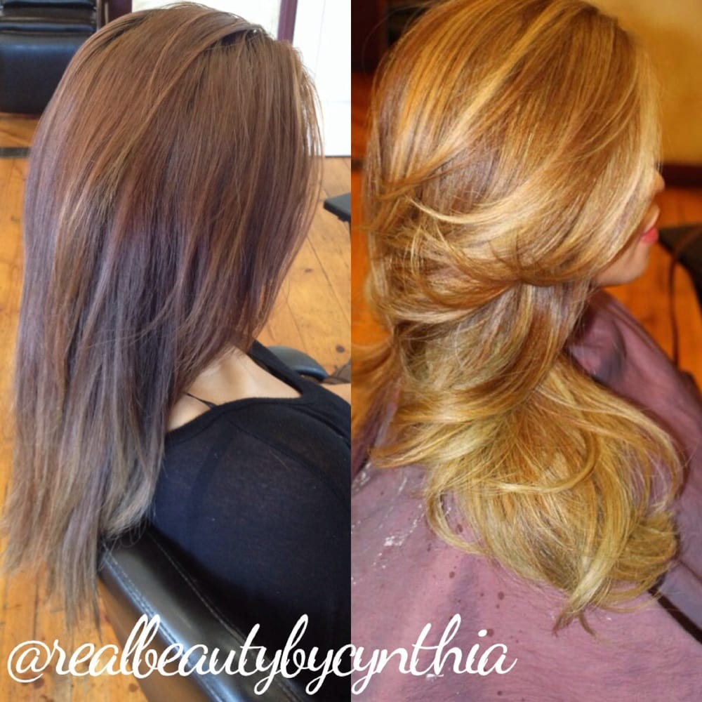 Before And After Color Correction Dark To Light In Just One Appointment  Yelp