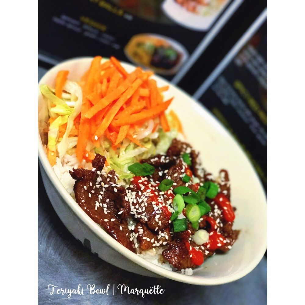 Food from Teriyaki Bowl