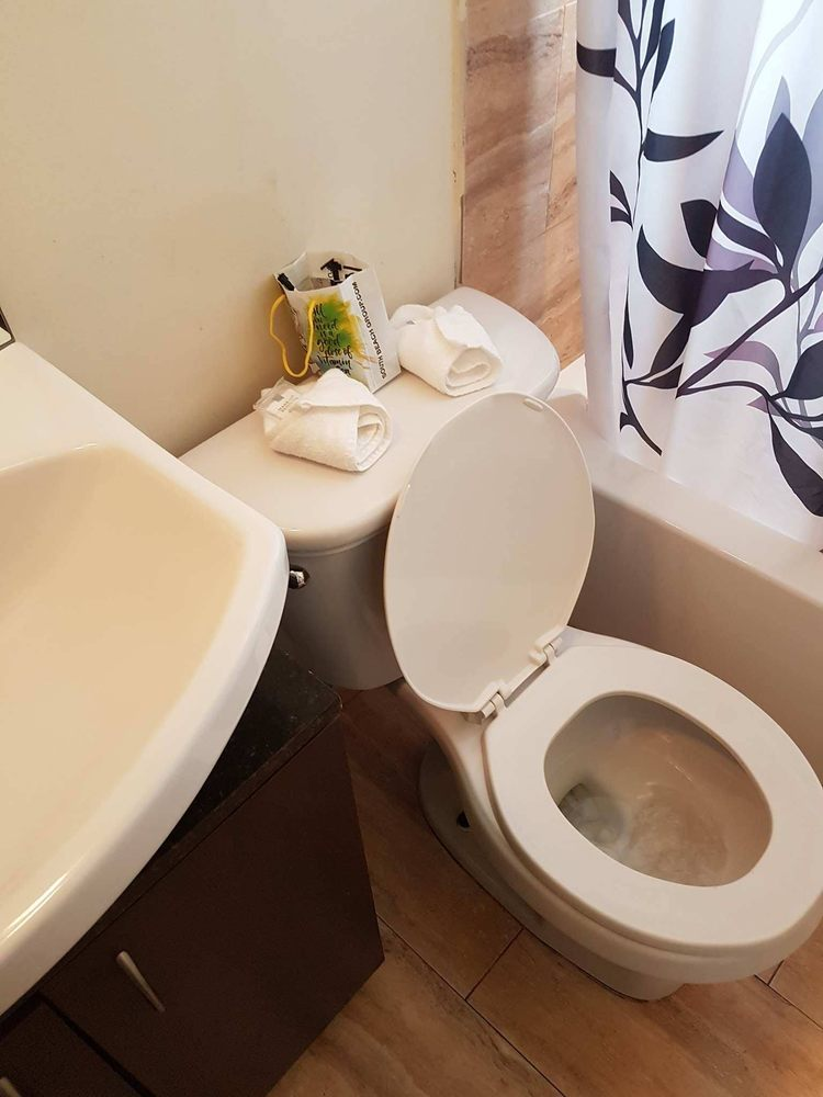 Toilet did not flush, sewer smell - Yelp