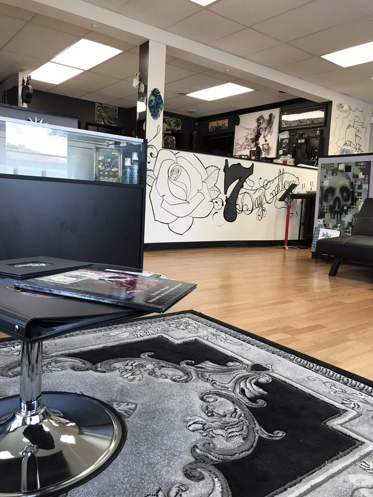 7 Day Gallery Tattoo: 6000 W 159th St, Oak Forest, IL