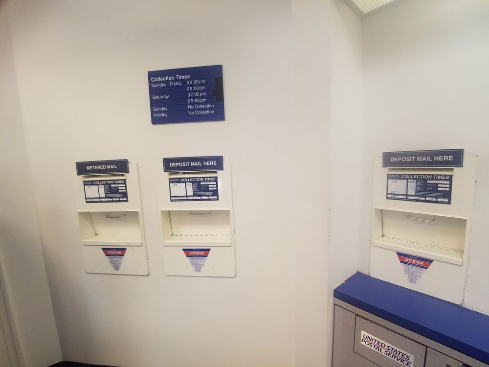 Photo Of US Post Office   Annandale, VA, United States. Mail Slots With