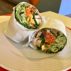 Photo Of Mama Says Torrance Ca United States Whole Wheat Wrap With