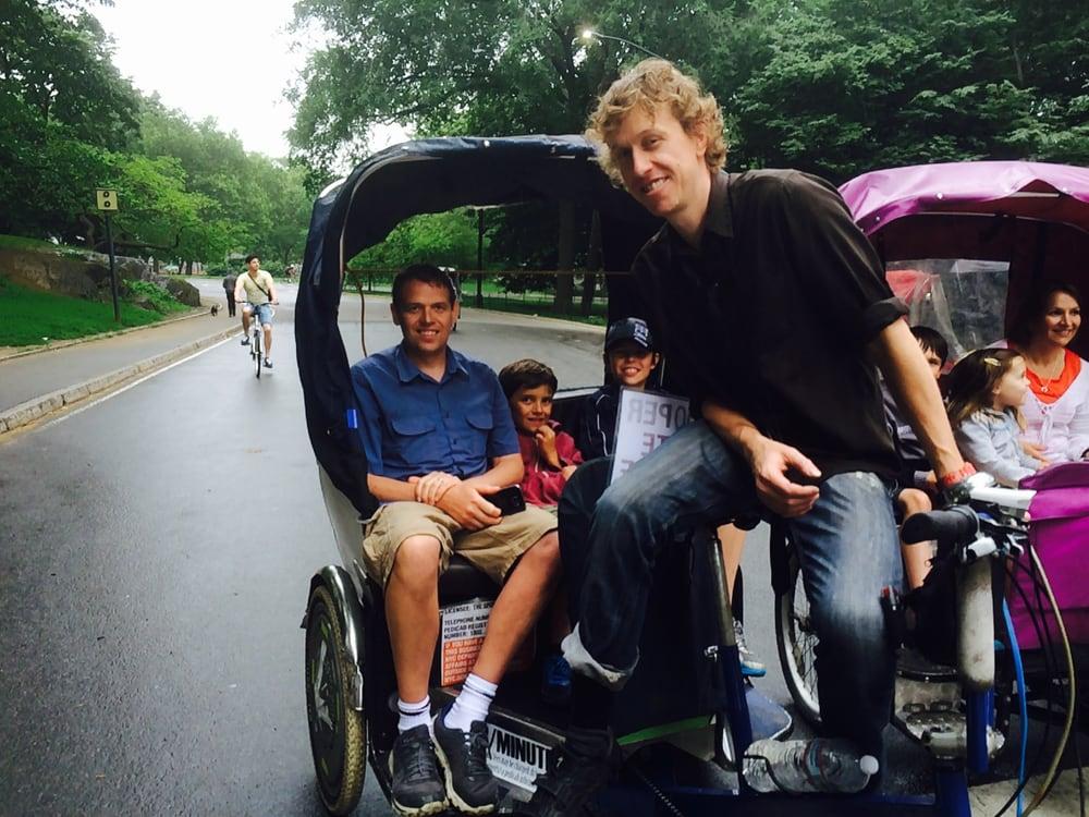 Central Park Pedicab Tours: Central Park, Central Park, NY