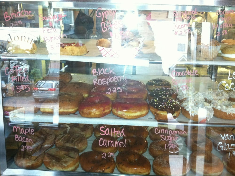Gypsy Donut & Espresso Bar - Nyack, NY, United States. The donut selection!