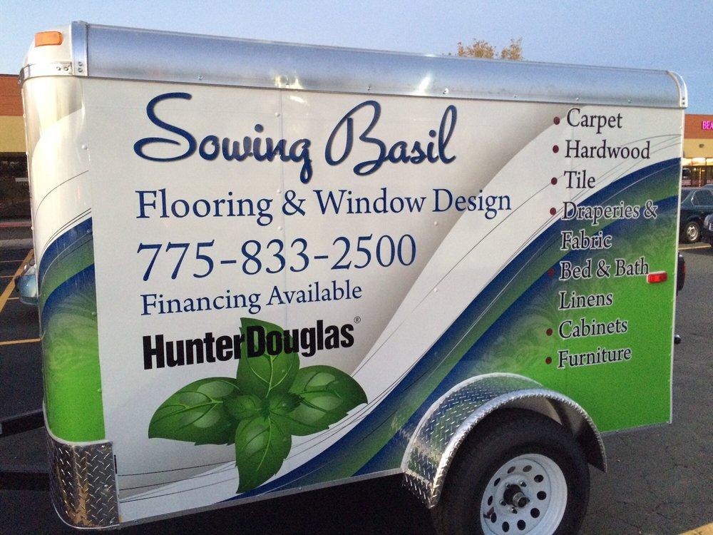 Sowing Basil