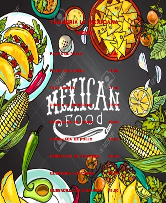 Taqueria La Mexicana: 305 W Griffin Pkwy, Mission, TX