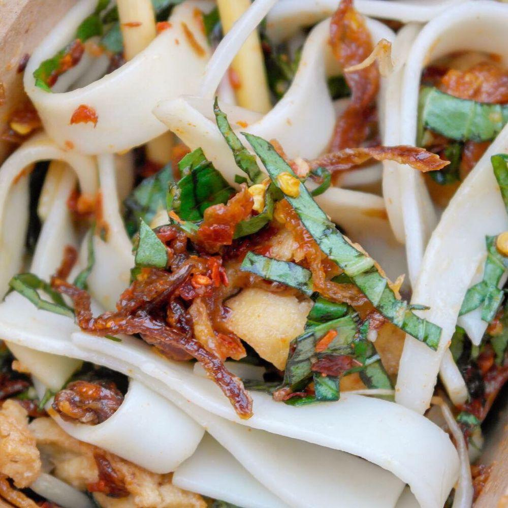 Food from Vu Noodles