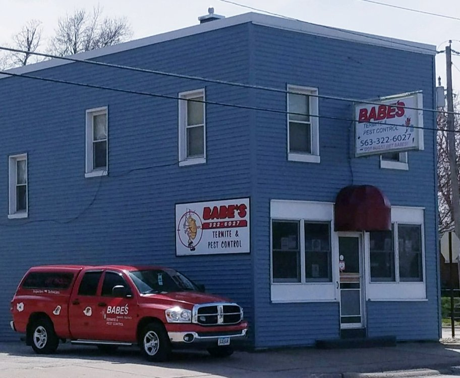 Babe's Termite & Pest Control: 2147 W Locust St, Davenport, IA