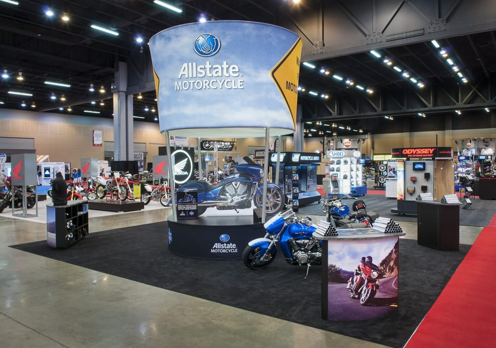 allstate trade show exhibit