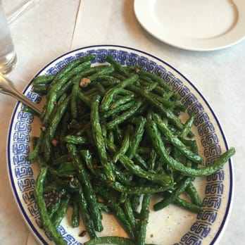 ... , PA, United States. Dry sautéed green beans with minced pork