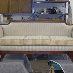 Superb Photo Of Bobs Upholstery   Staunton, VA, United States. Duncan Phyfe Sofa