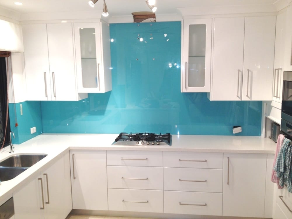 Coloured Glass Splashbacks B Q