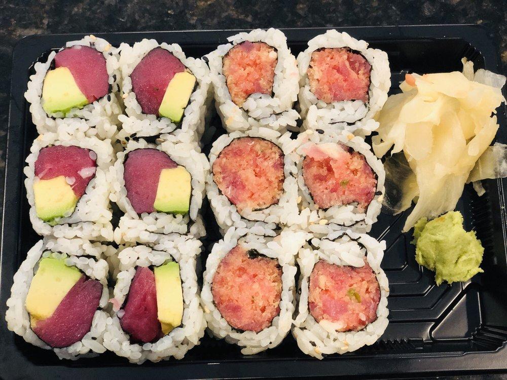 Poke Sushi and Hibachi: 243 E International Speedway Blvd, DeLand, FL
