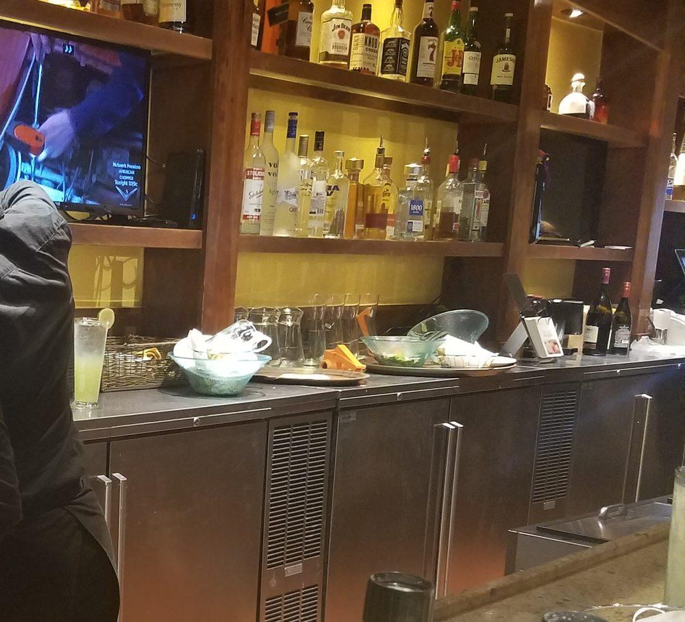 Dirty bar area... - Yelp