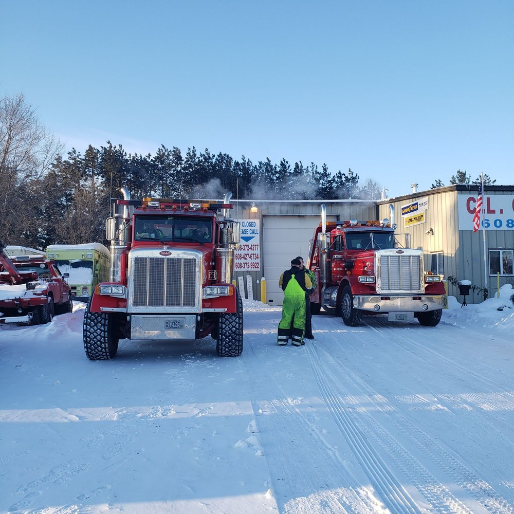 C. L. Chase 24 Hour Towing & Recovery: W10416 County Rd, Camp Douglas, WI