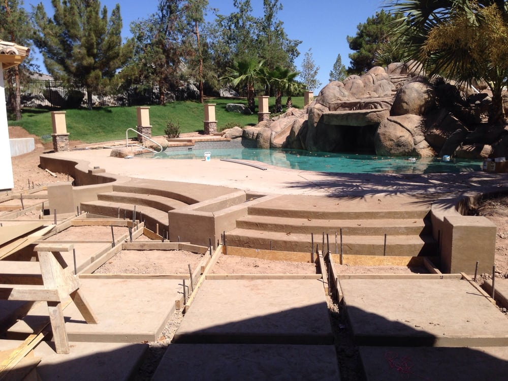 Photo Of Concrete Innovation   Gilbert, AZ, United States. Stamped Concrete  Steps With