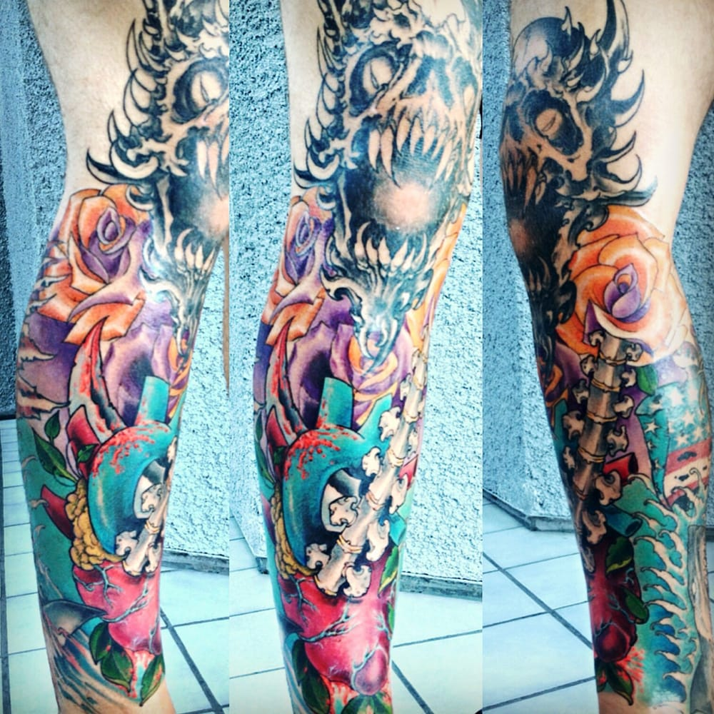 Richard carniglia is too sick definitely going back for for Tattoo convention los angeles