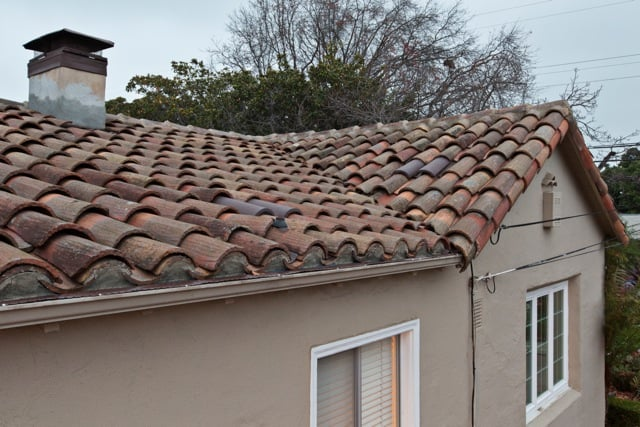 Quot Cap And Pan Quot Vintage Tile Roof Includes Custom Made Bird