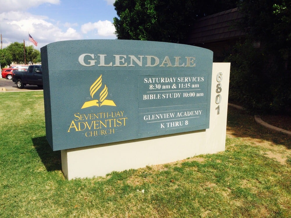 Glendale Adventist Church   6801 N 43rd Ave, Phoenix, AZ, 85019   +1 (623) 934-3295