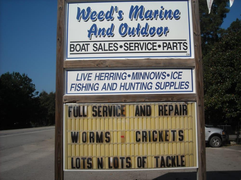Weed's Landing Marine & Outdoors: 3230 Hwy 378, Leesville, SC