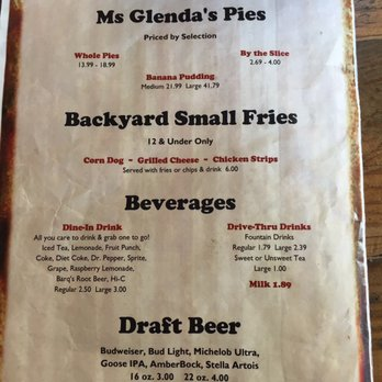 Photo Of Backyard Barbeque   Magnolia, AR, United States. Menu