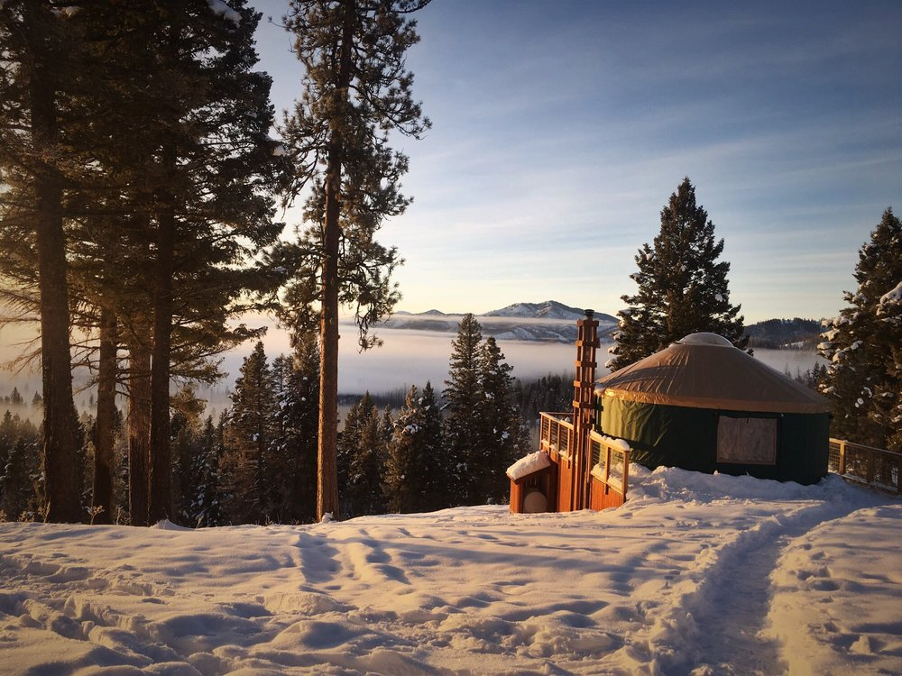 Hennessy Yurt: Idaho City, ID