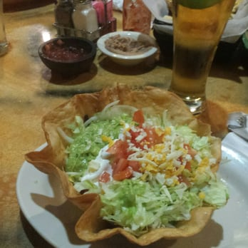 Photo Of Viva Mexican Restaurant Urbandale Ia United States Taco Salad Fajita