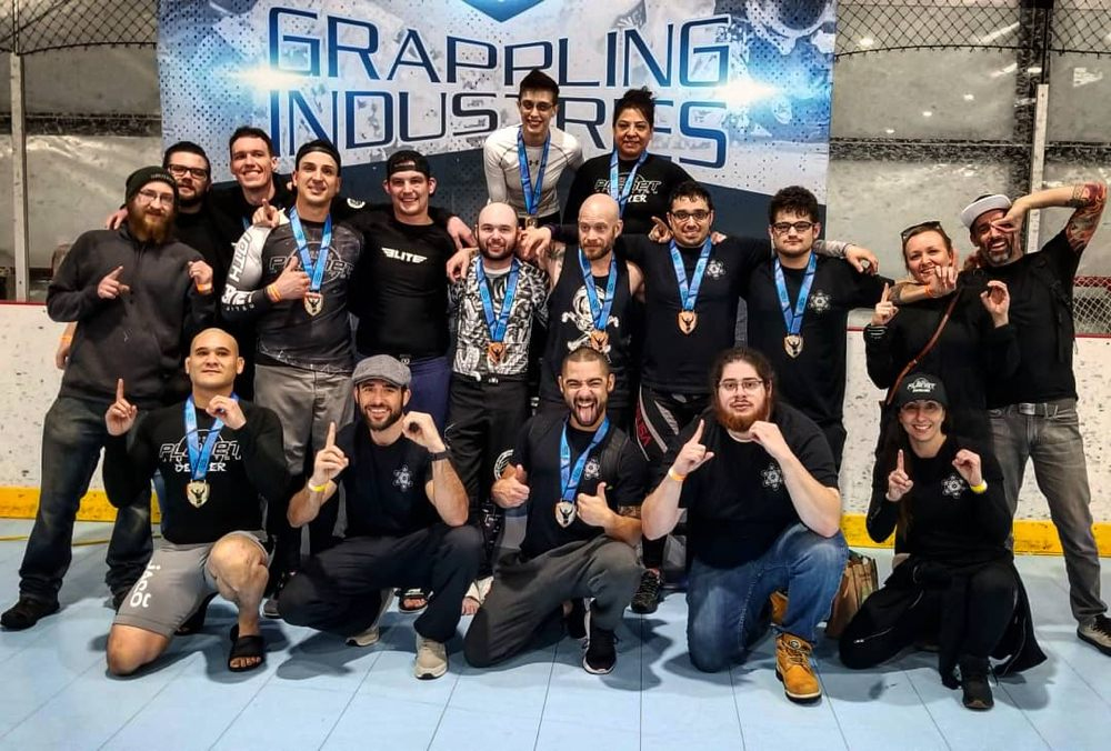 Great showing by the team at Grappling Industries  - Yelp