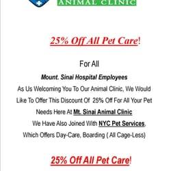 Mt Sinai Animal Clinic - CLOSED - Veterinarians - 23-08 30th