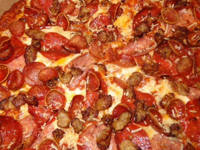 Photo Of Round Table Pizza   San Lorenzo, CA, United States. Double  Pepperoni