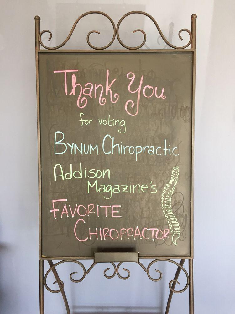 Bynum Chiropractic: 4833 Keller Springs Rd, Addison, TX