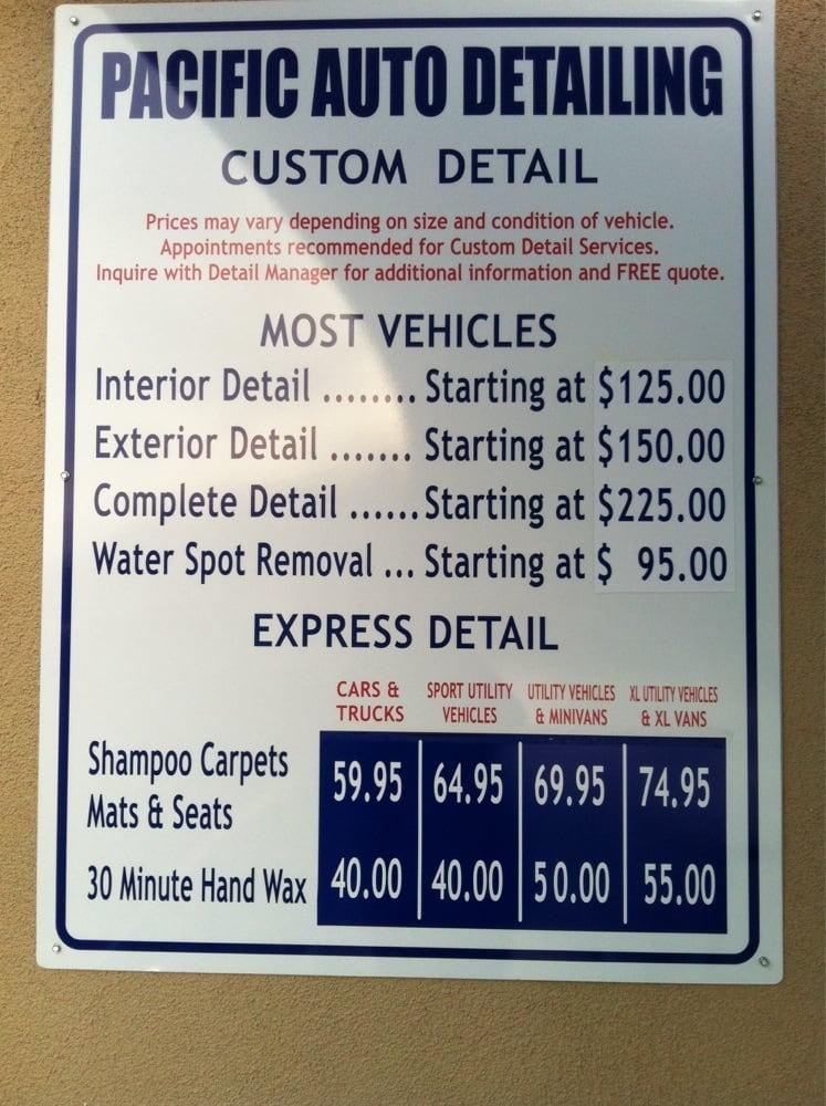 Pacific Car Wash Yelp
