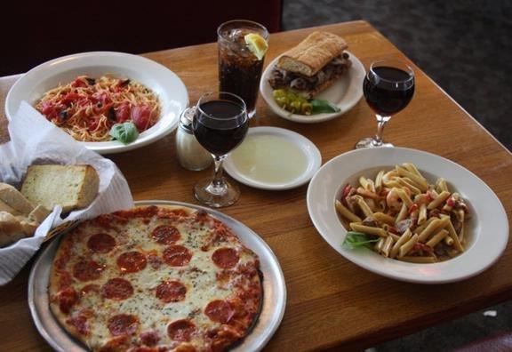 Manzellas Italian Restaurant: 115 S 1st St, Champaign, IL