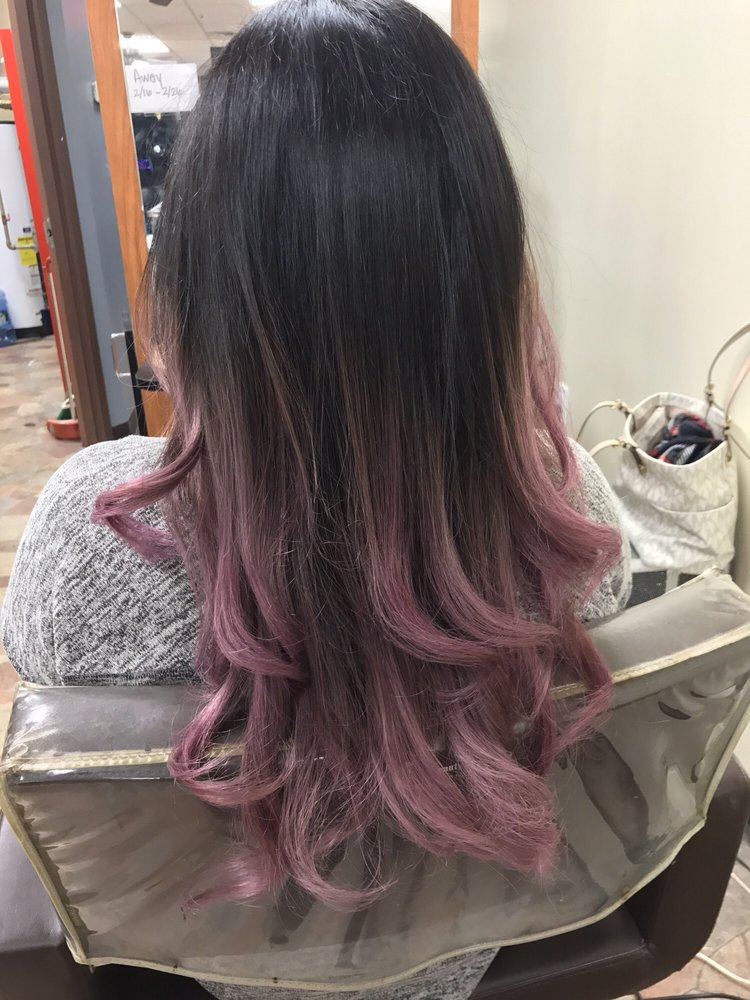 Beautiful Pastel Color From A Dark Brown Hair Yelp