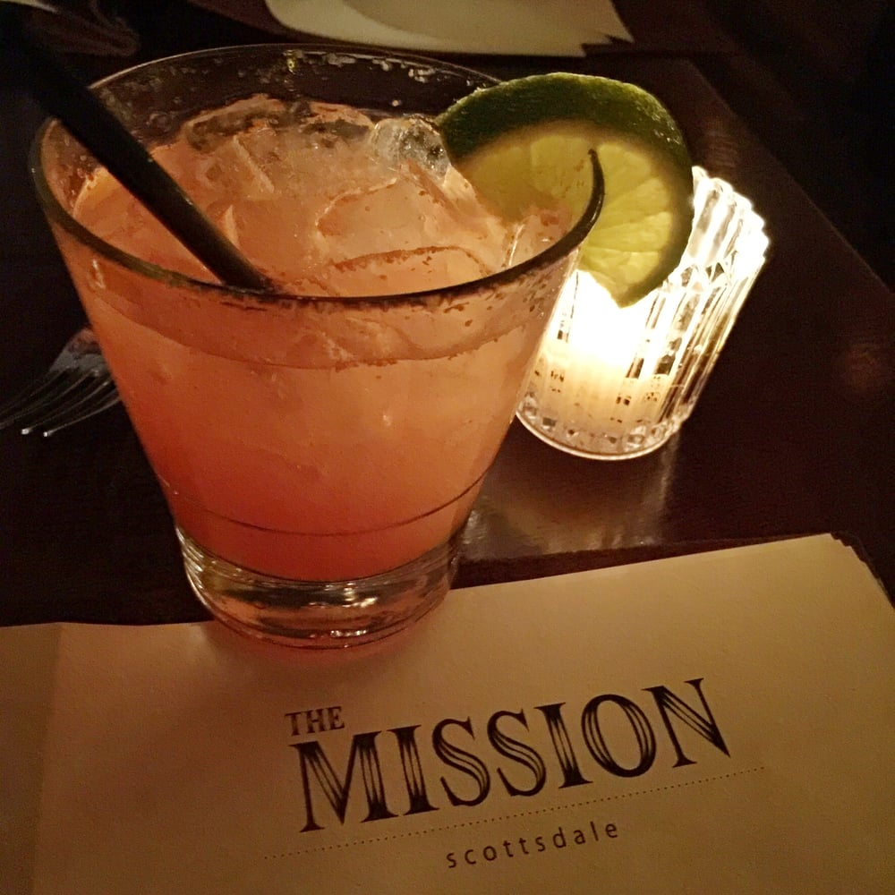Mission Scottsdale 1889: Blood Orange Margarita (Casamigos Blanco Tequila, Pressed