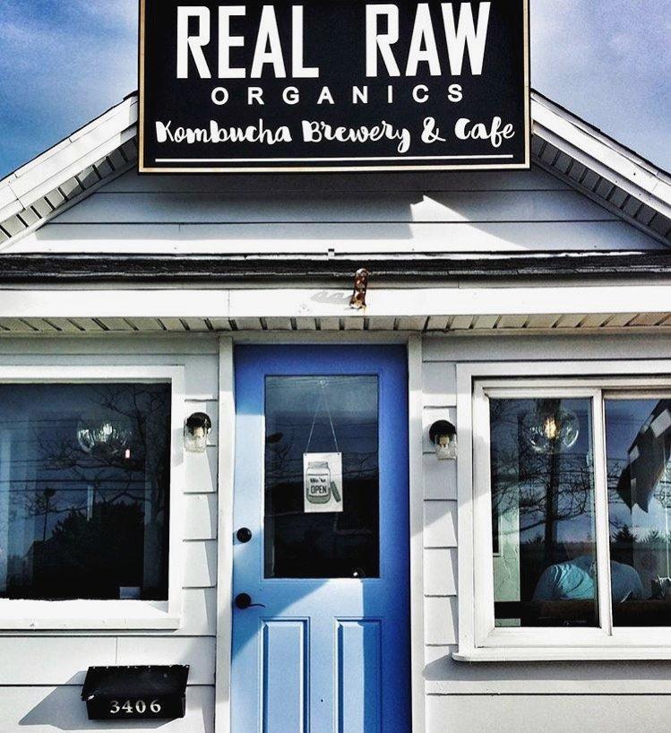 Real Raw Organics Kombucha Brewery & Cafe: 3406 Coastal Hwy, Ocean City, MD