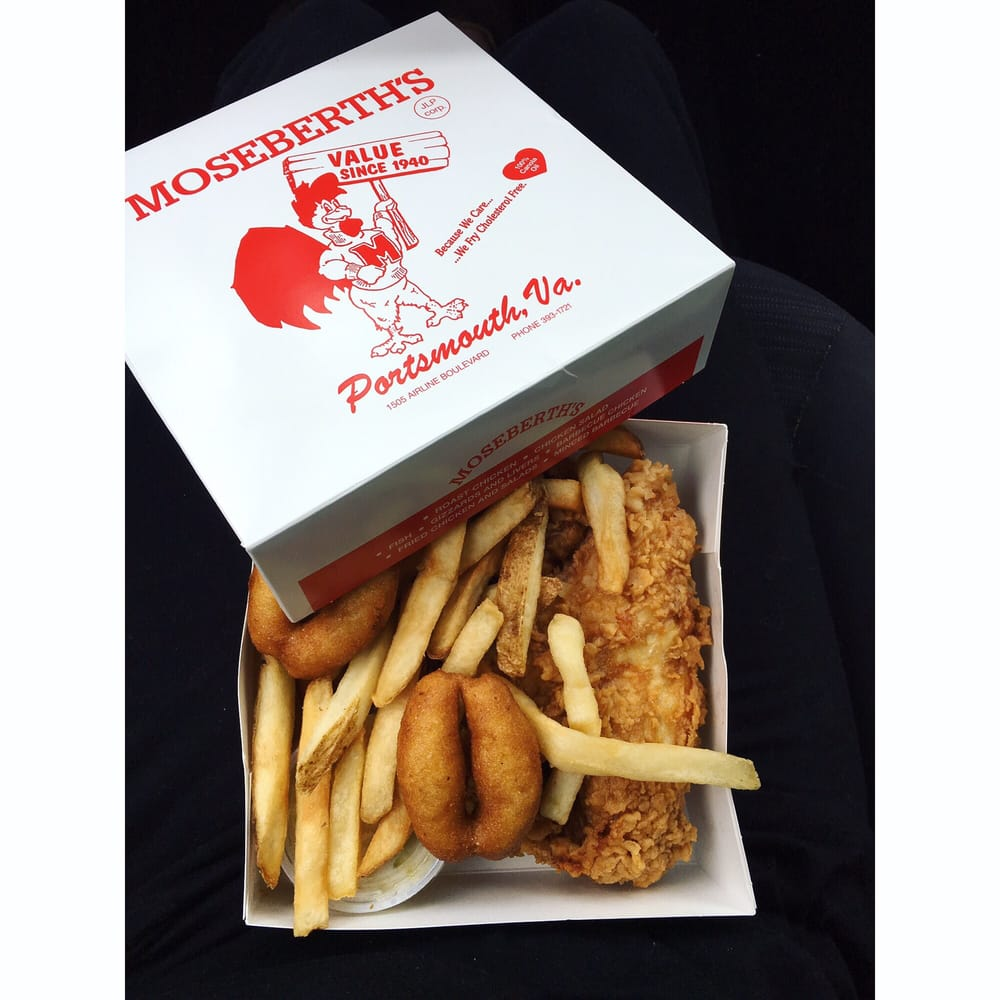 Moseberth's Chicken Place: 1505 Airline Blvd, Portsmouth, VA