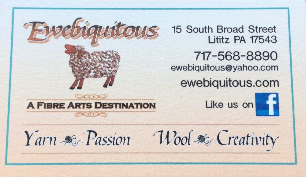 Ewebiquitous: 15 S Broad St, Lititz, PA
