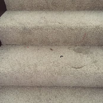 Photo of Rick's Family Carpet Care - Tacoma, WA, United States. Before stairs