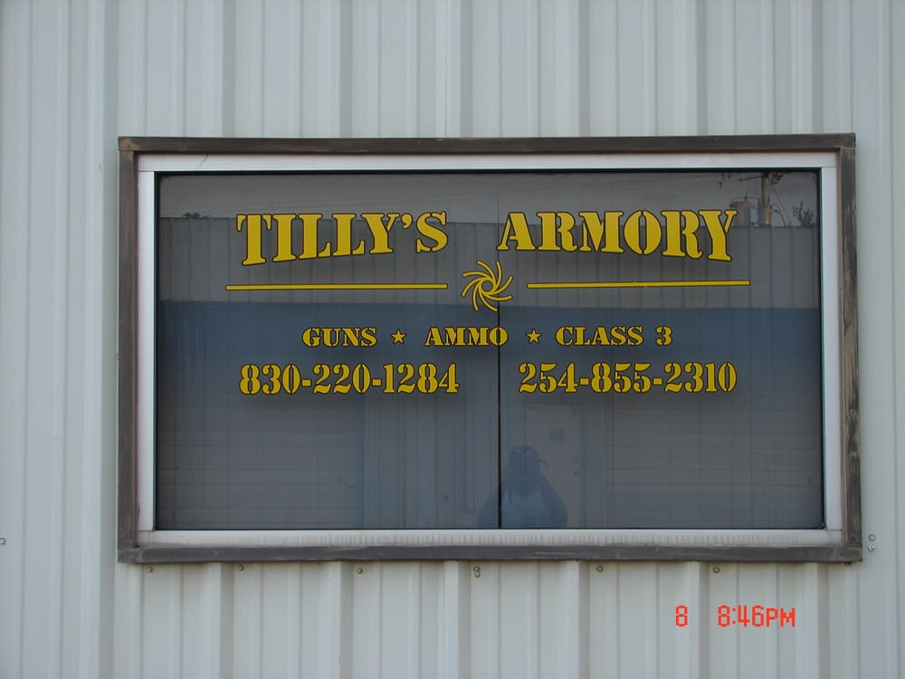 Tilly's Armory: 106 S West St, Burnet, TX
