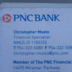 PNC Bank - Banks & Credit Unions - 14495 Miramar Pkwy