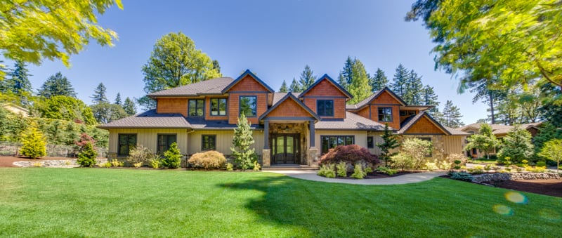 Teal point custom homes contratista lake oswego or for Custom lake homes