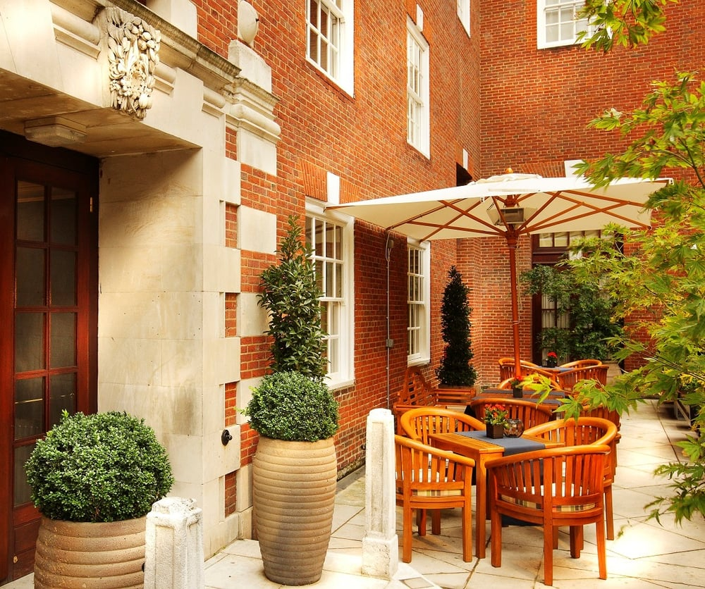 The terrace yelp for Bloomsbury hotel terrace