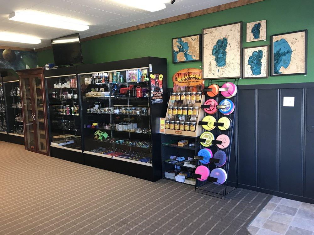 Higher Elevation Smoke Shop & Gallery: 189 Commercial St, Portola, CA