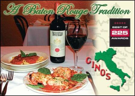 Gino S 73 Photos 96 Reviews Italian 4542 Bennington Ave Baton Rouge La Restaurant Phone Number Menu Last Updated December 16