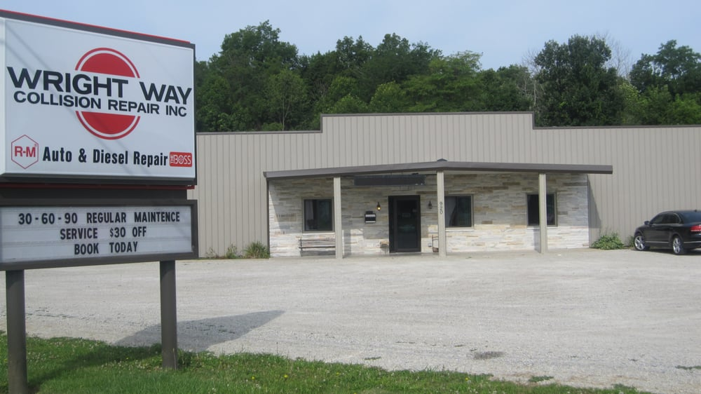 Wright Way Collision Repair: 920 W Walnut St, Albany, IN