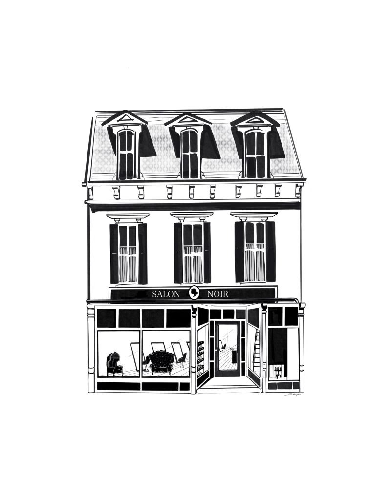 Salon Noir: 3 S Broadway St, Lebanon, OH