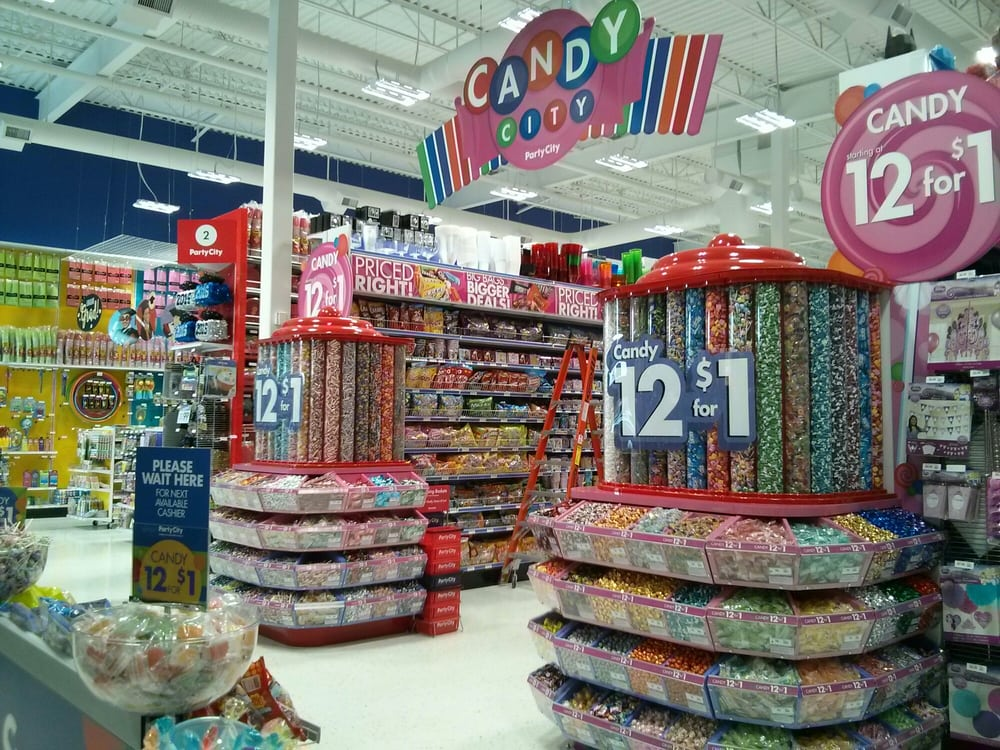 Aisles of candy  - Yelp
