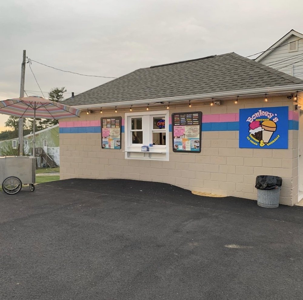 Bonkey's Ice Cream: 1502 Main St, Whiteford, MD